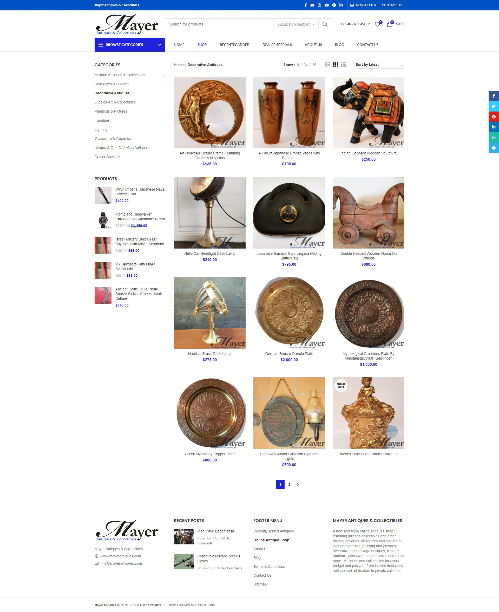Mayer Antiques & Collectibles - shop